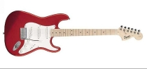 Fender Squier Affinity Stratocaster, Maple, Red Metallic