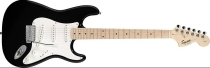 Fender Squier Affinity Stratocaster, Maple, Black