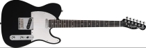 Fender Squier Standard Telecaster Black and Chrome (Special Edition)
