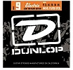 Dunlop Nickel Plated Steel Electric Guitar Strings Light Top/Heavy Bottom, DEN1086
