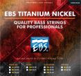 EBS ML-4TN Titanium Nickel-Medium Light