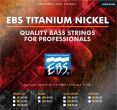 EBS ML-5TN Titanium Nickel-Medium Light
