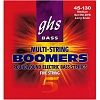 GHS 5M-DYB BASS BOOMERS ROUNDWOUND Medium, 5-str., Long Scale