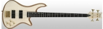 Schecter Stiletto Custom-4, Natural Satin, Satin Gold HW