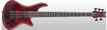 Schecter Stiletto Custom-5, Vampyre Red Satin, Black HW